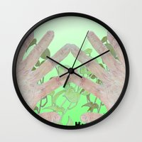 bag Wall Clocks featuring Bag by Art Barf