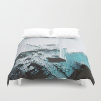 glitch Duvet Covers featuring Glitch by SUBLIMENATION