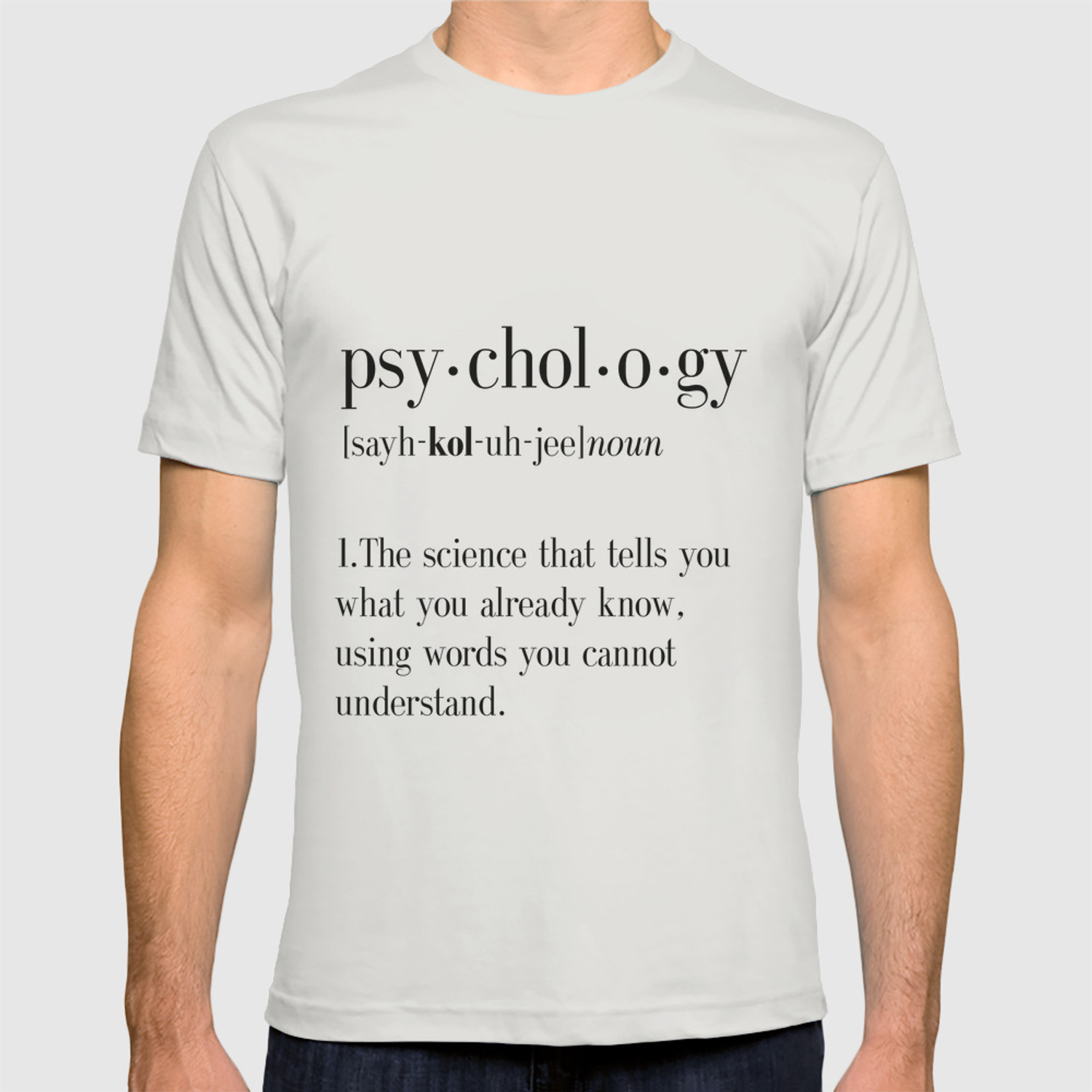7431957aa5 Psychology, Psychology gifts, Psychology definition, funny definition, funny  quotes, dictionary art T-shirt