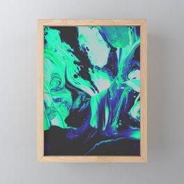 NIGHT TRAIN Framed Mini Art Print