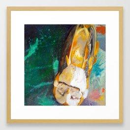 Mary O my Birdy! Framed Art Print