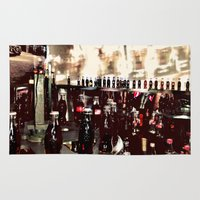 it crowd Area & Throw Rugs featuring Crowd by YM_Art by Yv✿n / aka Yanieck Mariani