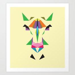 abstracthorse Art Print