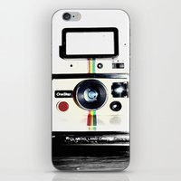 lawyer iPhone & iPod Skins featuring Shake it like a Polaroid picture by Rachel Landry