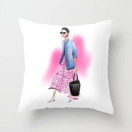 Streetstyle no 27 Throw Pillow