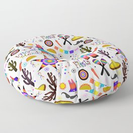 Fiesta Mexicana Floor Pillow