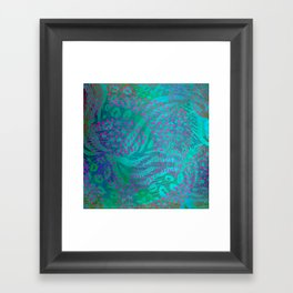 Tropical Abstract Framed Art Print