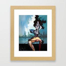 Dockyard Ransom Framed Art Print
