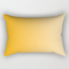 Orange to Pastel Orange Vertical Linear Gradient Rectangular Pillow