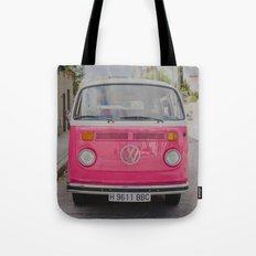 Hot Pink Lady Tote Bag
