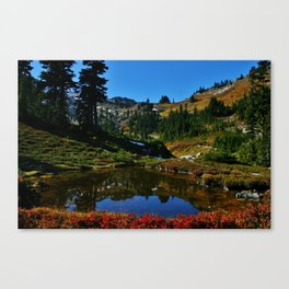 The Valley of Heaven Canvas Print