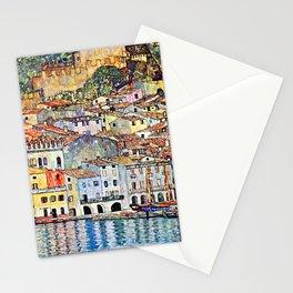 Gustav Klimt Malcesine on Lake Garda Stationery Cards