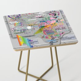 internetted Side Table