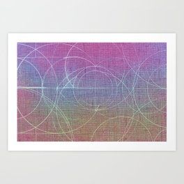 Aurea (Magenta Version) Art Print