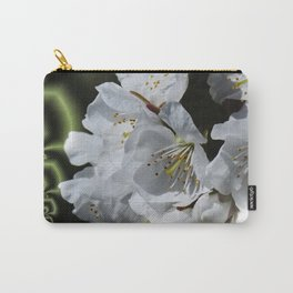 apple blossom pattern Carry-All Pouch