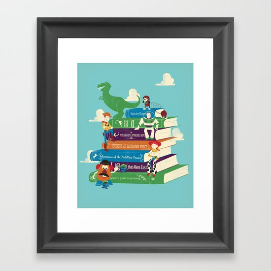Toy Stories Framed Art Print