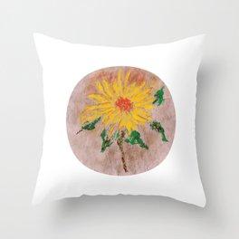 Flor IX (Flower IX) Throw Pillow