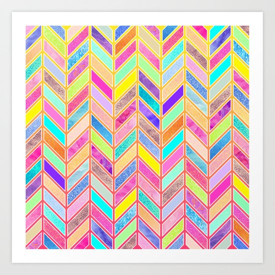 Colors Everywhere Art Print