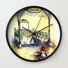 Porte Molitor Wall Clock