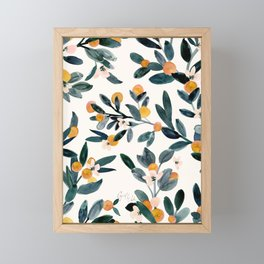 Clementine Sprigs Framed Mini Art Print