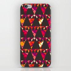 Vibrant triangles iPhone & iPod Skin