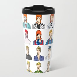 David Bowie – Head and Shoulders Above The Rest Travel Mug