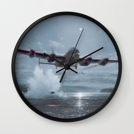 Operation Chastise Wall Clock
