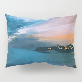 Laguna Beach At Night Pillow Sham