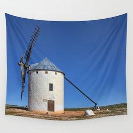 Spanish Windmill Wall Tapestry