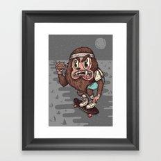 The Awesome Werewolf. Framed Art Print