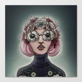 Poppy-Colored Glasses Canvas Print