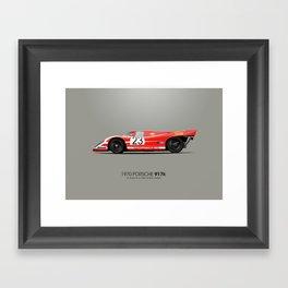 1970 Porsche 917K - Le Mans Winner Framed Art Print