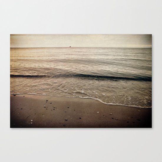 evening mood  Canvas Print