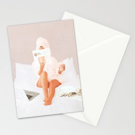 Weekend Morning II Stationery Cards