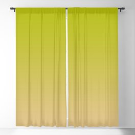 Ombre Effect, Lime to Blush Pink Blackout Curtain