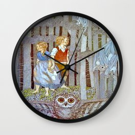 """""""Hansel and Gretel in the Woods"""" by Susan Jeffers  Wall Clock"""