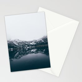 Alpine Lake Refletions Stationery Cards