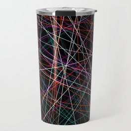 Endless void of strings Travel Mug