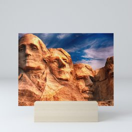 Mount Rushmore Mini Art Print