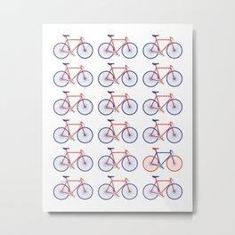 Bikes  Metal Print
