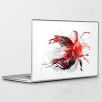 goldfish Laptop & iPad Skins featuring Goldfish by Robert Farkas