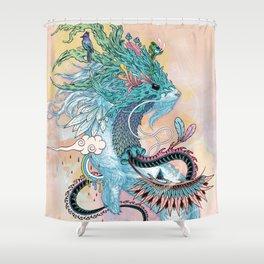 Journeying Spirit (ermine) Shower Curtain