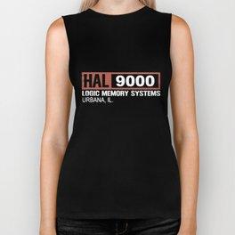 Hal 9000 Science Fiction Movie  Monolith  Sci Fi Astronaut Science T-Shirts Biker Tank