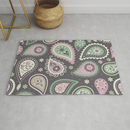 Soft romatic paisleys Rug