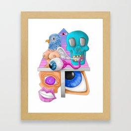 Booo Framed Art Print