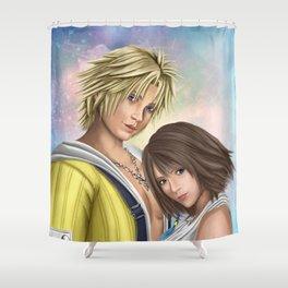 Yuna & Tidus [Final Fantasy X] Shower Curtain