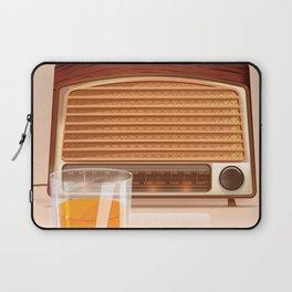 Radio & Whiskey Laptop Sleeve
