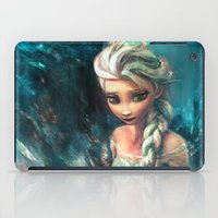 alice iPad Cases featuring The Storm Inside by Alice X. Zhang