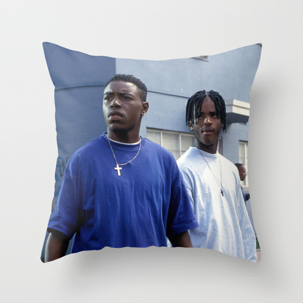 Menace Ii Society Throw Pillow by Trillartco PLW7948554