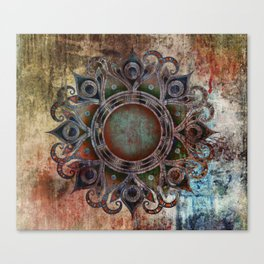 Mandala - Zombie Canvas Print